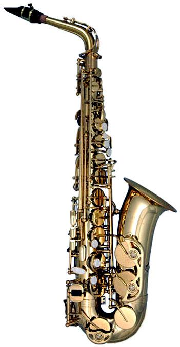 Trevor James Classic II Alto Saxophone, Gold Lacquer