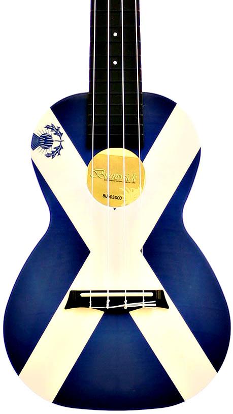 Brunswick BU50CSCO Concert Ukulele, Saltire design