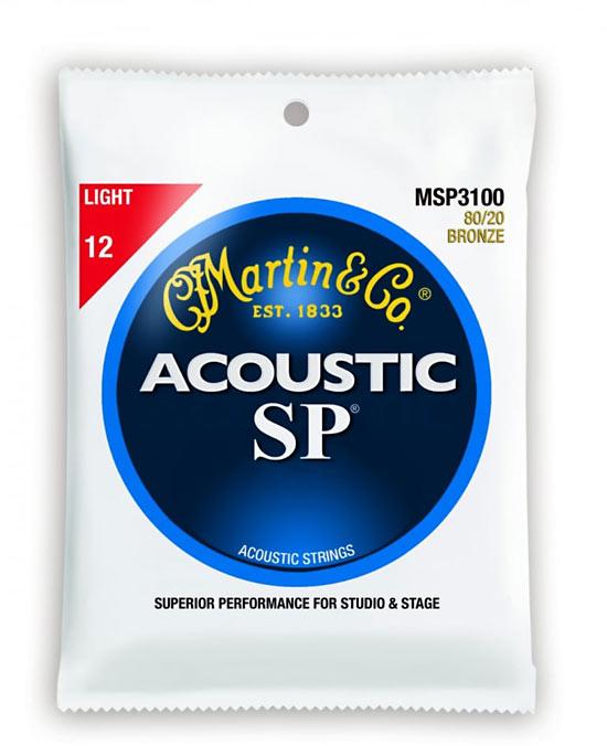 Martin SP Light Guitar Strings