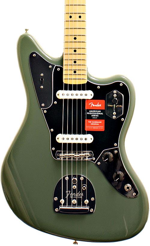 Fender AMERICAN PRO JAGUAR Olive