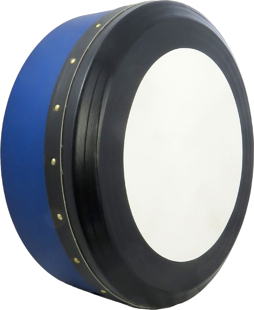 Glenluce 16inch Professional Bodhran, Blue