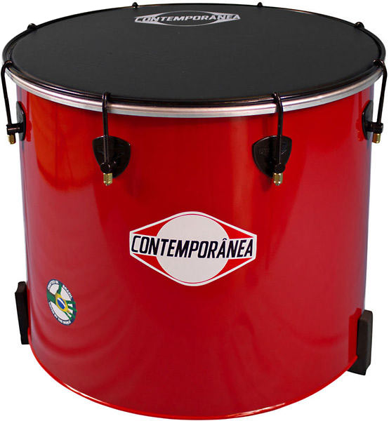 Contemporanea Surdo 18inch x 40cm. Red. Napa