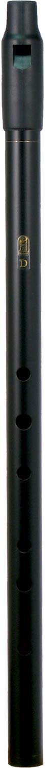 Howard Low D Whistle, Black, Tuneable