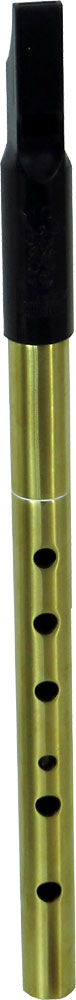 Nightingale High D Whistle, Tuneable Brass