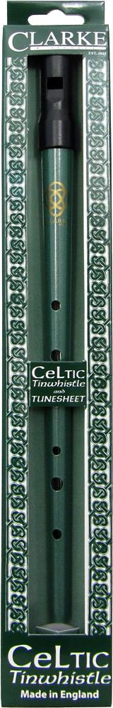 Clarke High D Whistle, Celtic Design