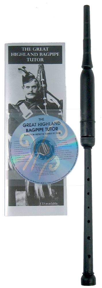 Bagpipes Galore Scottish Chanter, Book and CD