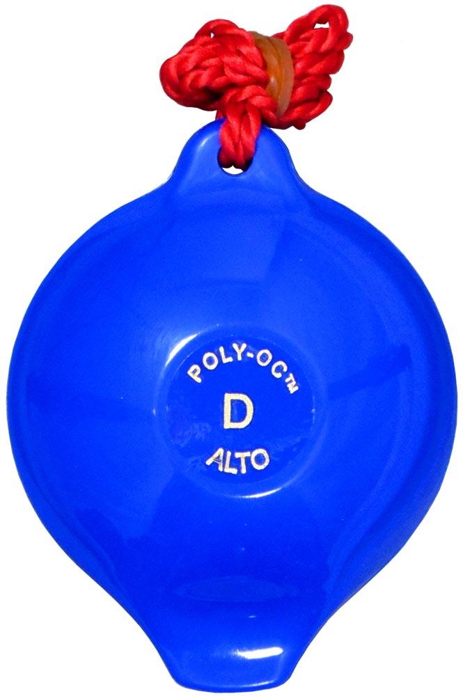 Polyoc 4 Hole Ocarina, Blue