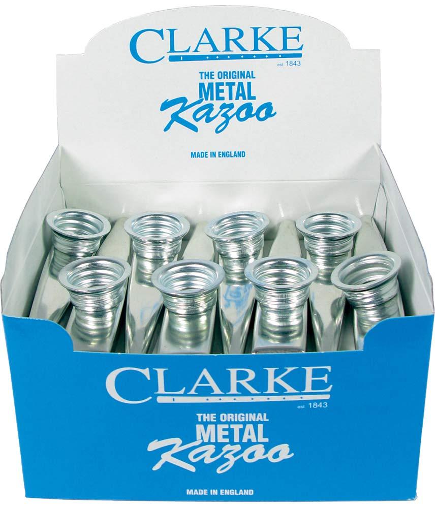 Clarke Metal Kazoo, Box of 24