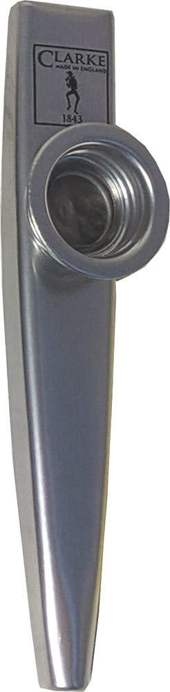 Clarke MKCSD Sliver Coated Metal Kazoo