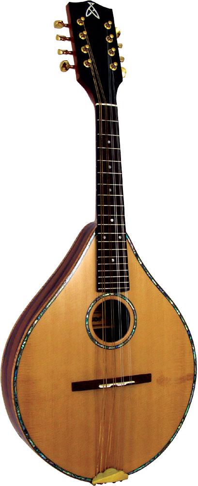 Ashbury Style S Celtic Mandolin, Solid Spruce