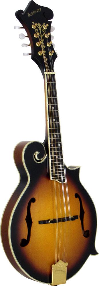 Ashbury AM-310 F Style Mandolin, Sunburst