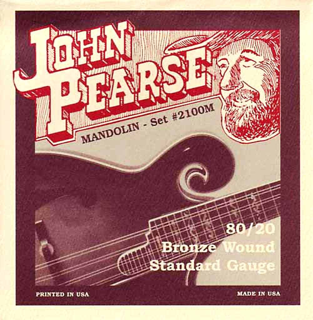 John Pearse 2110M Mandolin Strings, Medium Gauge