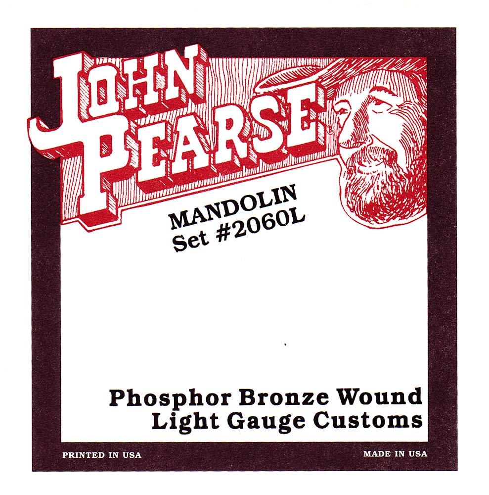 John Pearse 2060L Mandolin Strings, Light Gauge
