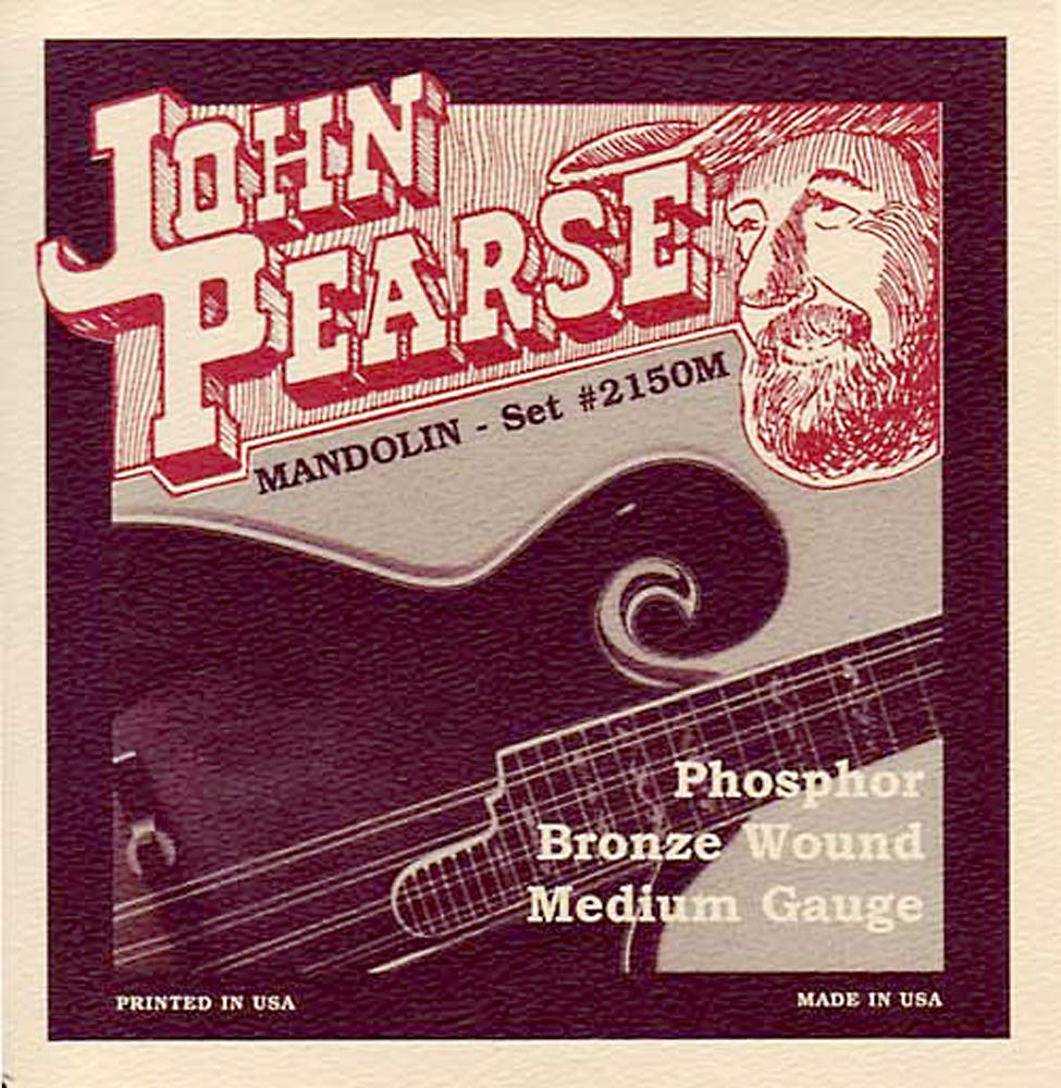 John Pearse 2150M Mandolin Strings, Medium Gauge