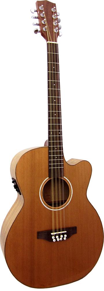 Ashbury Lindisfarne Octave Mandola, Guitar Body