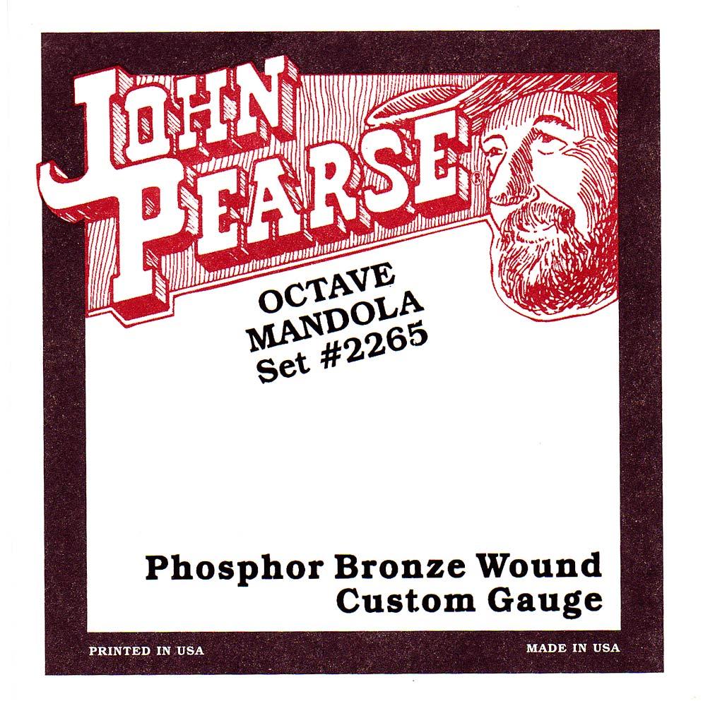 John Pearse 2265M Octave Mandola Strings, Medium