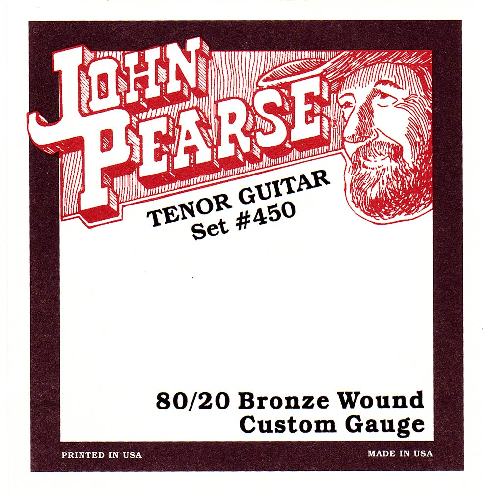 John Pearse 450L Tenor Guitar Strings, Bronze