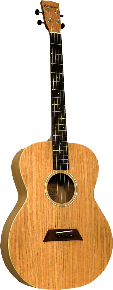 Ashbury AT-40 Tenor Guitar, Flamed Oak GDAE