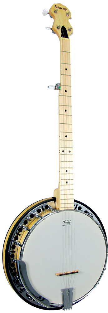 Ashbury AB-65 5 string Banjo, Maple Rim