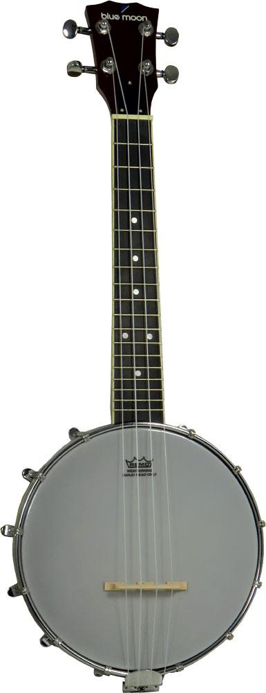 Blue Moon Ukulele Banjo, 8inch Head