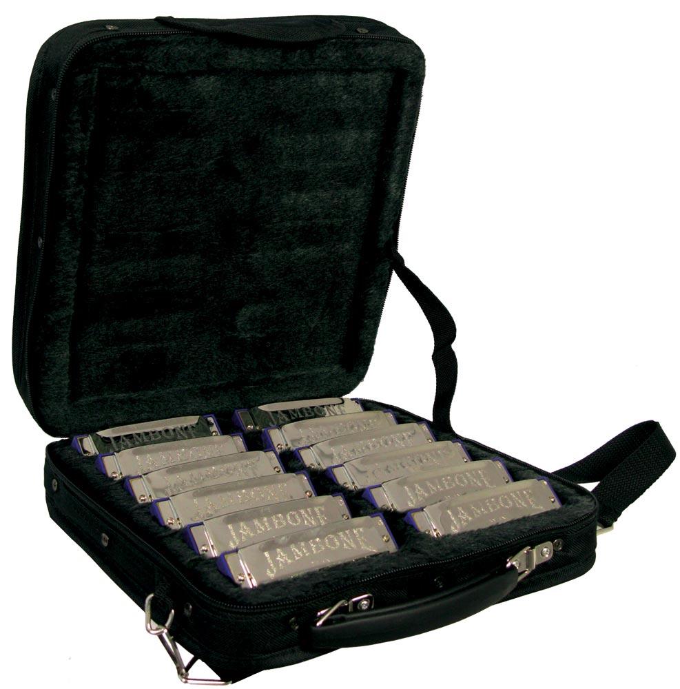 Jambone Harmonica Set