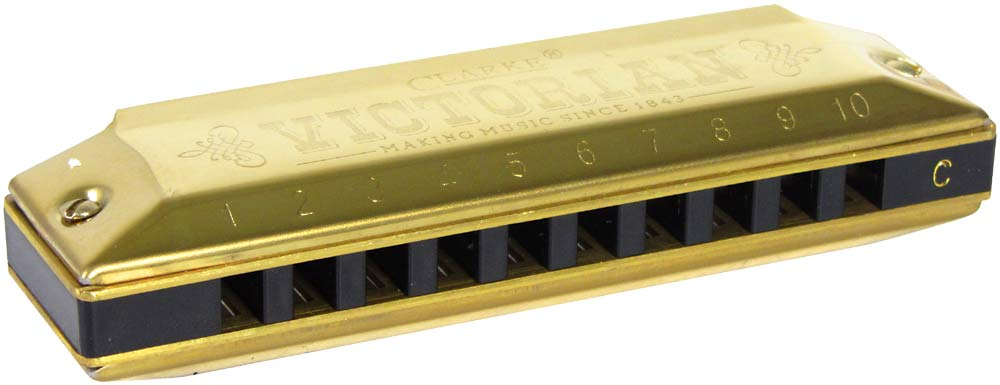 Clarke CH20 Victorian Harmonica in C Major
