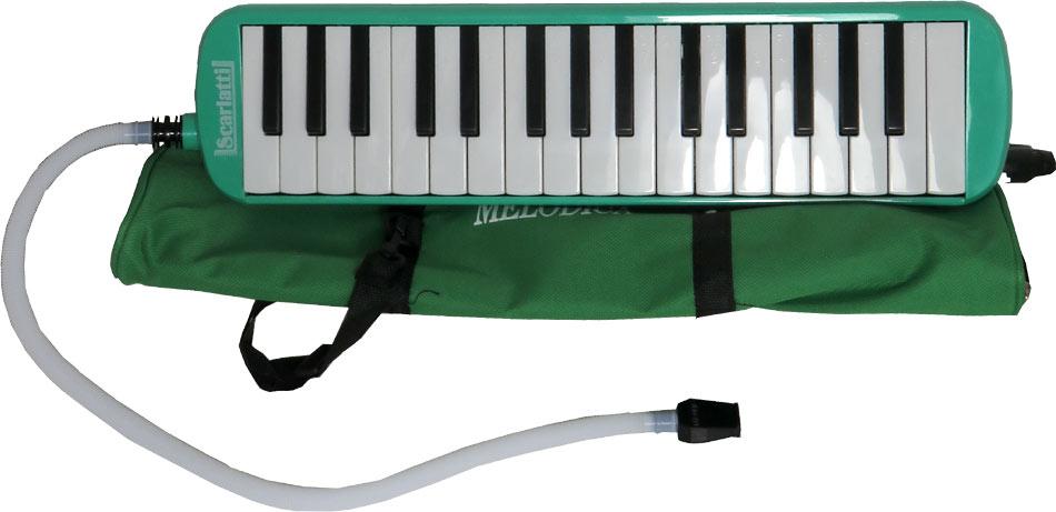 Scarlatti SME-32G 32 Key Melodica, Green