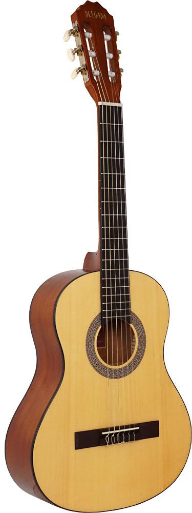 Delgada DGC-08B Classical Guitar, 3/4 Size