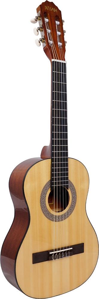 Delgada DGC-08C Classical Guitar, 1/2 Size
