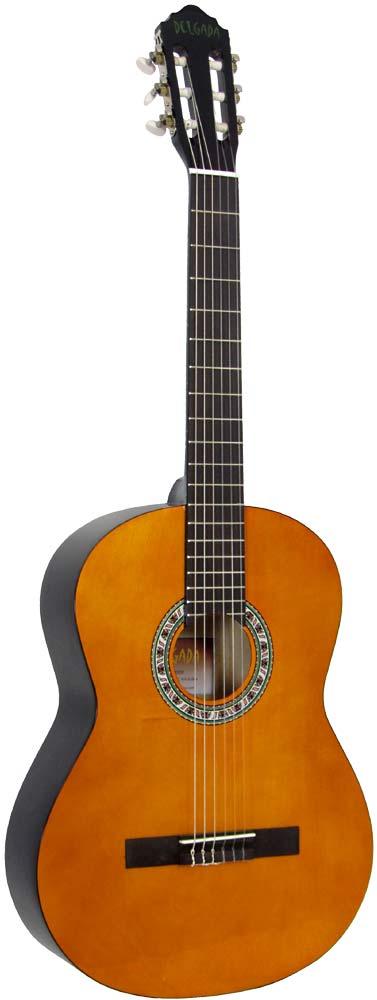 Delgada DGC-10 Classical Guitar, Full Size