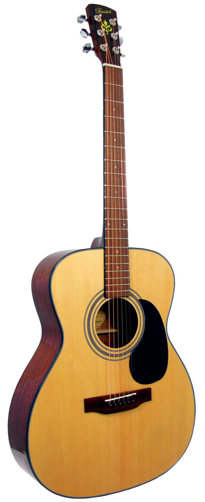 Bristol BM-16 OOO Acoustic Guitar.Spruce Top