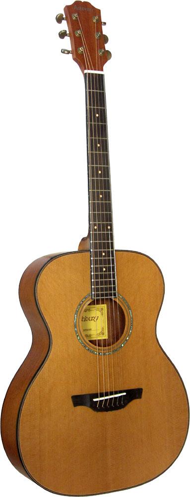 Ashbury AG-43 OOO Guitar, Solid Cedar