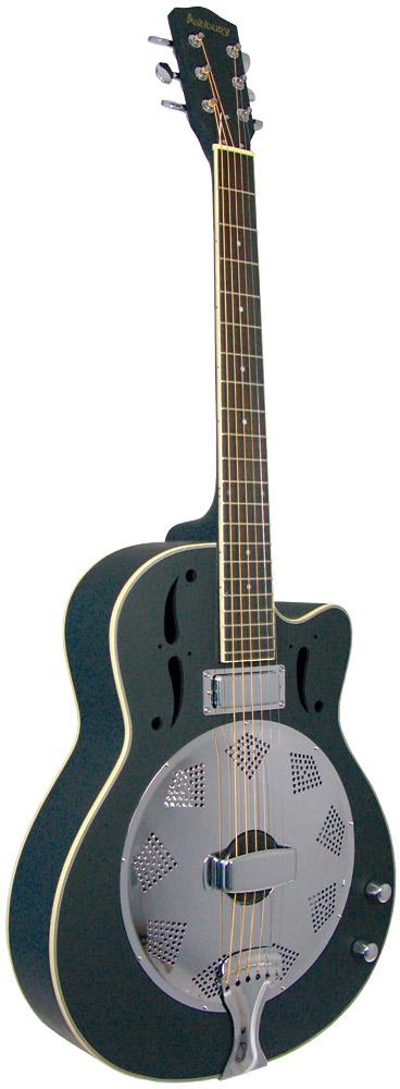 Ashbury AR-38 Resonator Guitar, Electro
