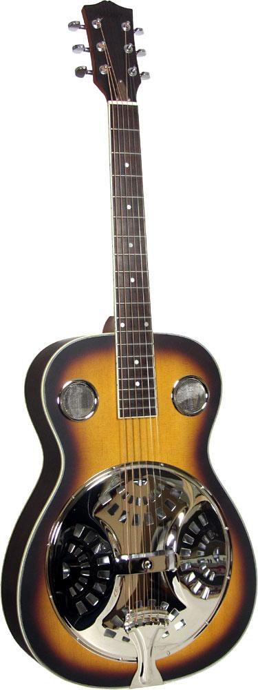 Ashbury AR-35 Resonator Guitar, Single Cone