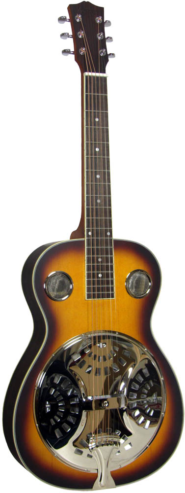Ashbury AR-37 Resonator Guitar, Square Neck