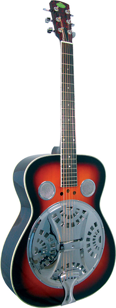 Regal RD-30 Resonator Guitar Sunburst