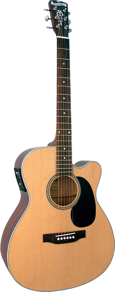 Blueridge BR-63CE Contemporary 000Guitar, Electro