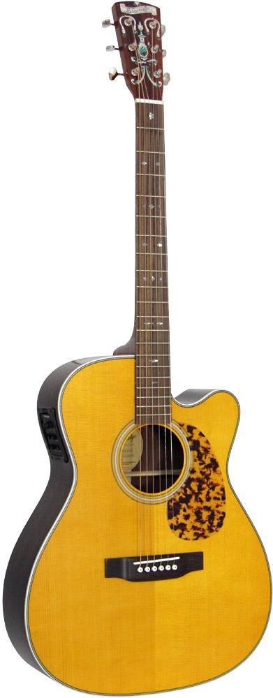 Blueridge BR-163CE Historic 000 Guitar, Electro