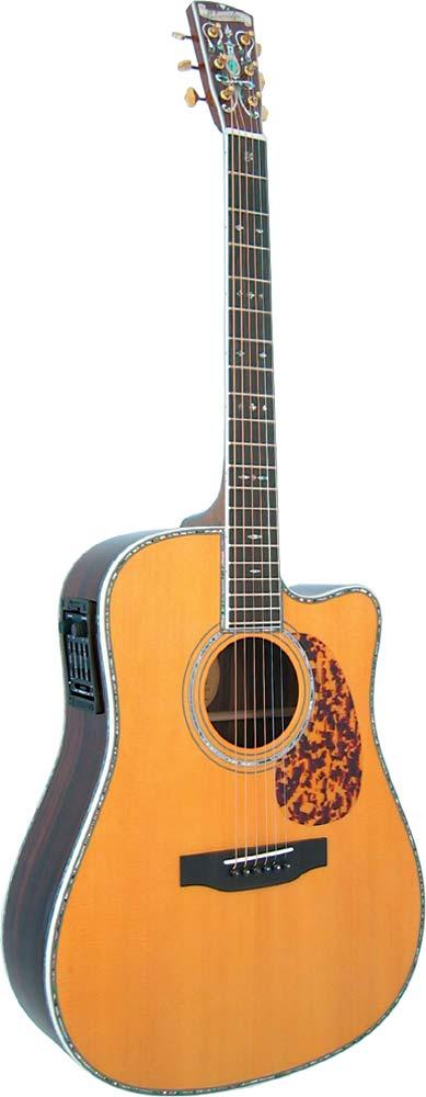Blueridge BR-180CE Historic Dread Guitar, Electro
