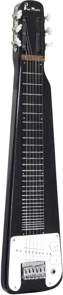 Blue Moon BG-50 Hawaiian Style Guitar, Black