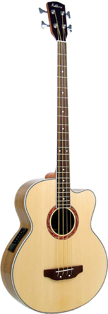 Ashbury AGB-45 Electro Acoustic Bass Guitar