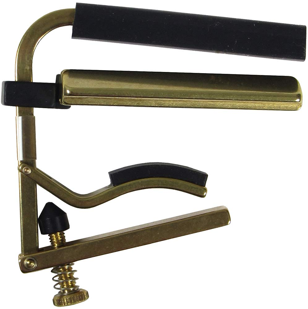 Shubb C6B Dobro Guitar Capo, Brass