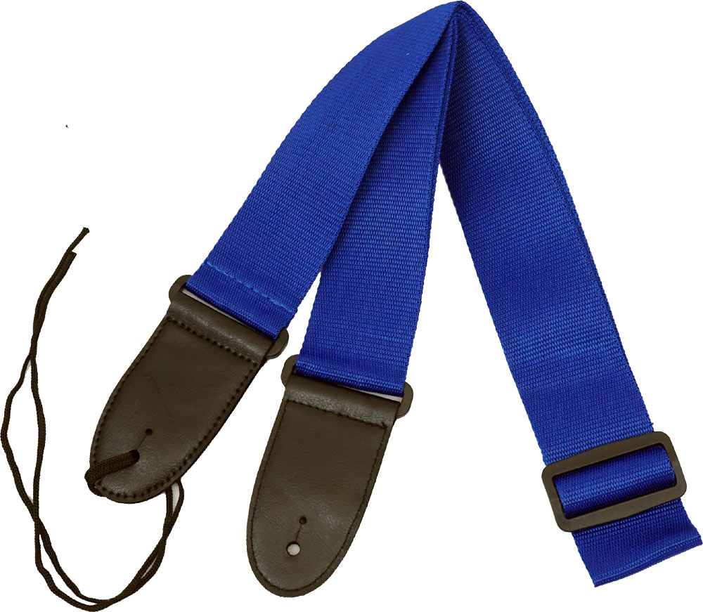 Viking Webbing Guitar Strap, Blue
