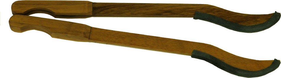 Atlas AB-12 Dulcimer Hammers, Leather Ends