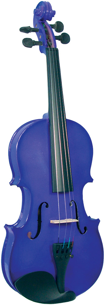 Blue Moon VG-105 Purple Violin, 1/2 Size