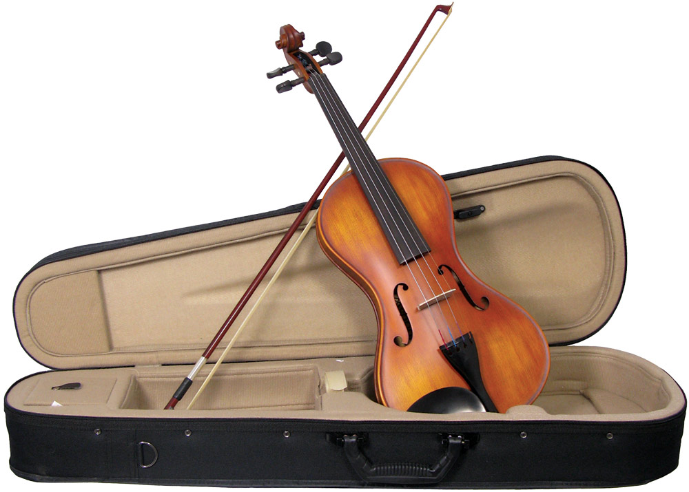 Valentino VM-150 Full Size Smooth Violin outfit