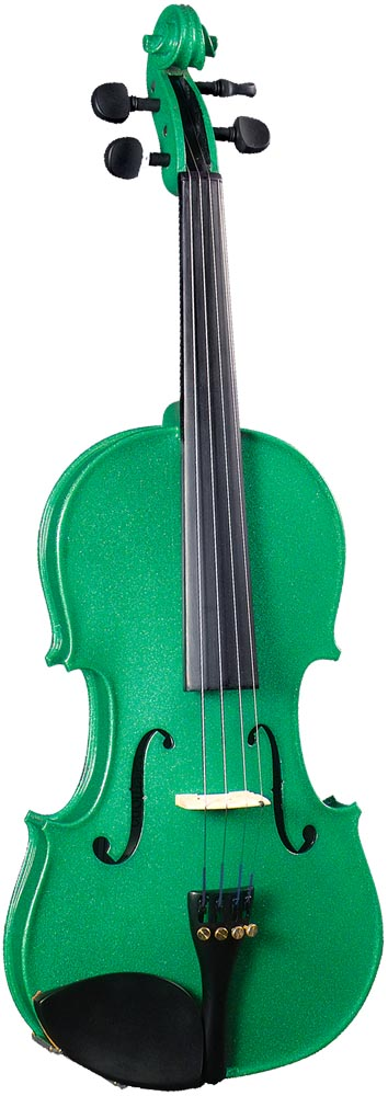 Cremona SV-75 Full Size Violin, Green