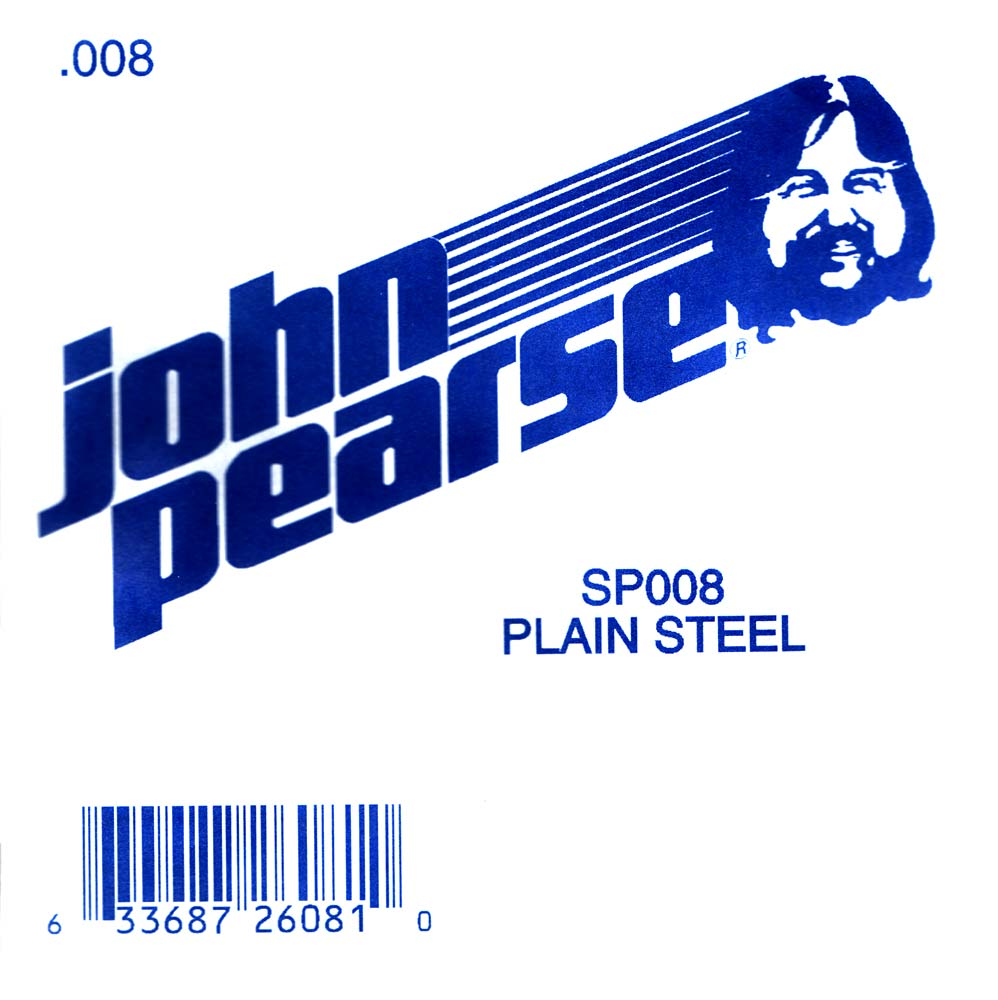 John Pearse Plain Ball end string .008
