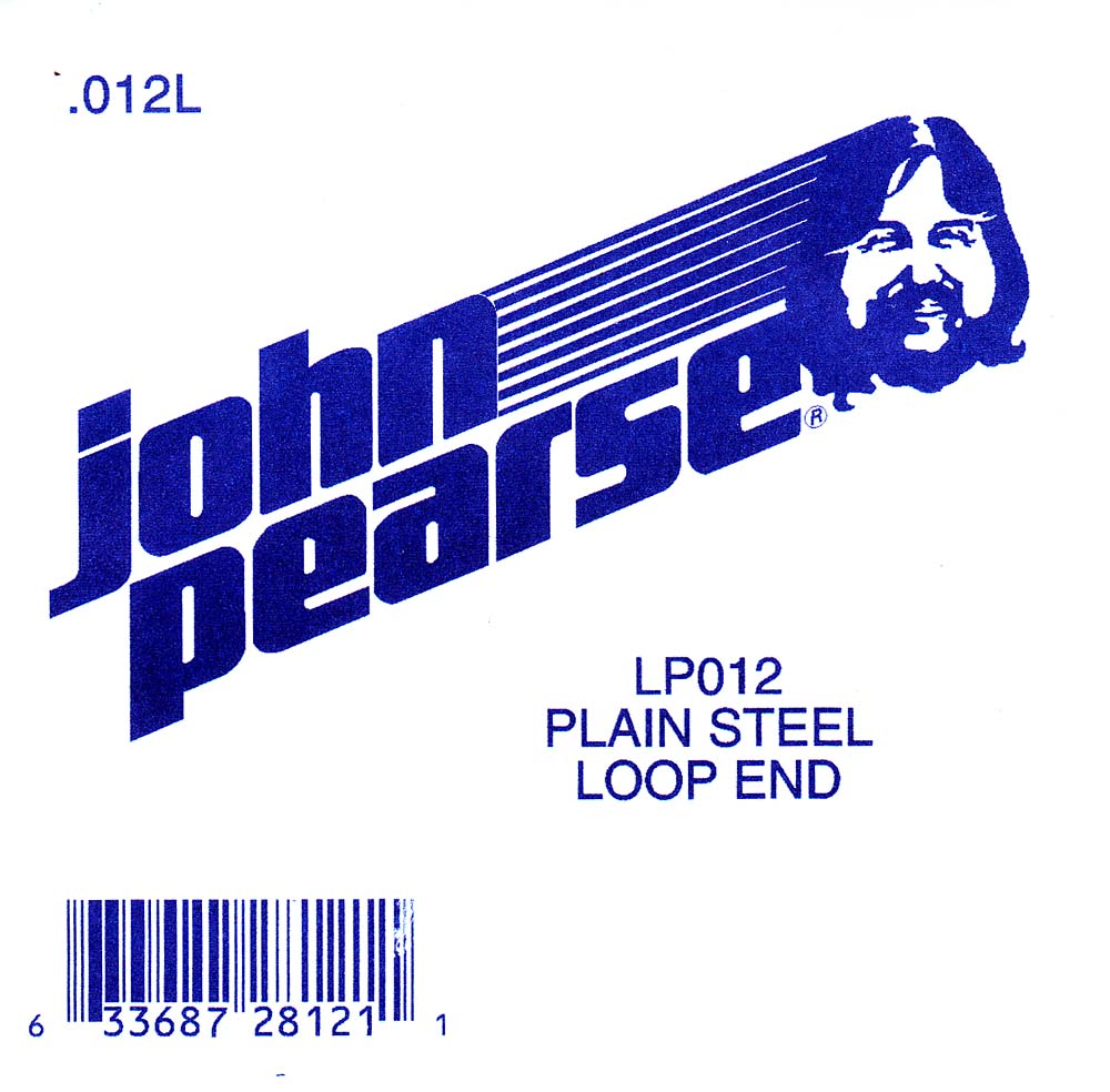 John Pearse Plain loop end string .012