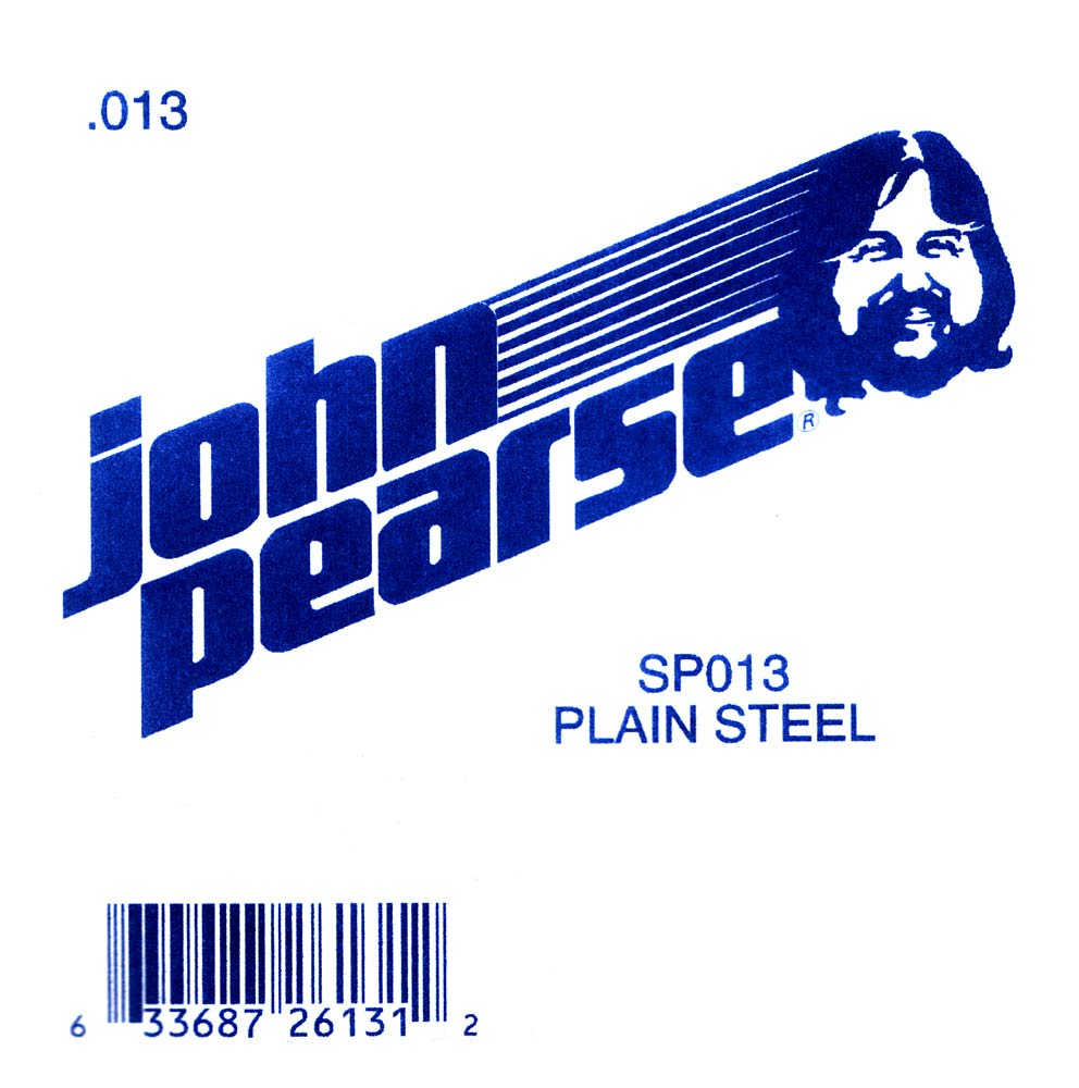John Pearse Plain Ball end string .013
